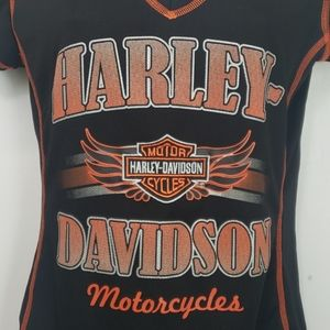 Harley Davidson tshirt sz S black